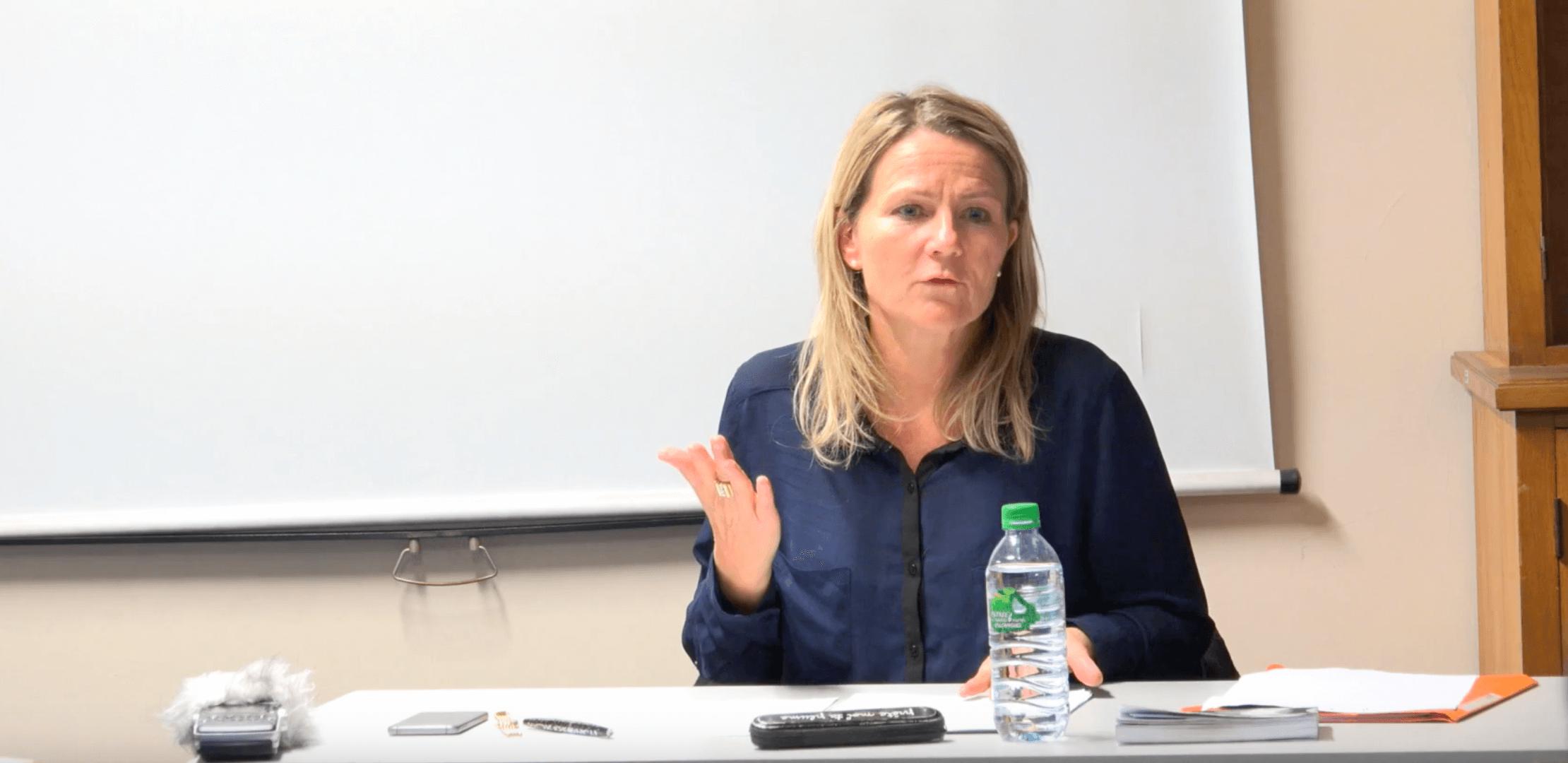 Soin et Compassion, le séminaire des doctorants – Fabienne Brugère