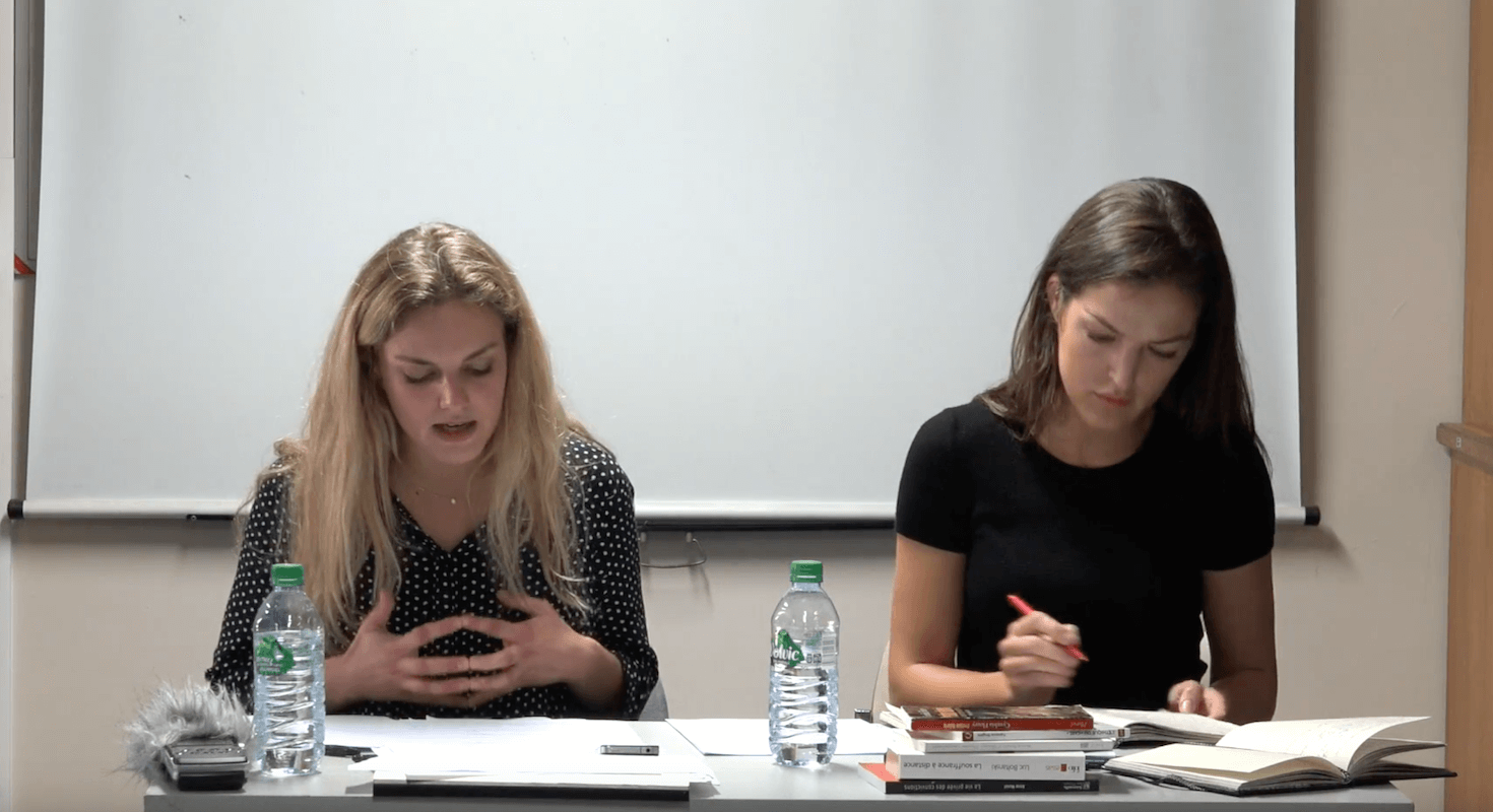 Soin et Compassion, le séminaire des doctorants – Zona ZARIC & Pauline BÉGUÉ