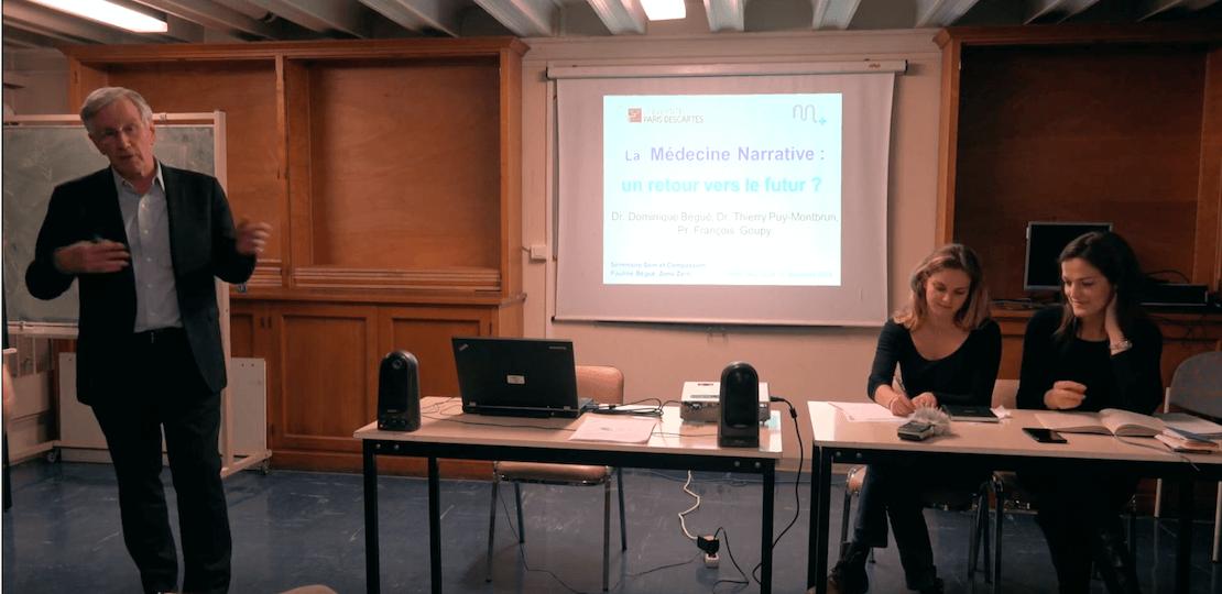Soin et Compassion, le séminaire des doctorants – François GOUPY, Dominique SERET BÉGUÉ, Thierry DE PUY MONTBRUN