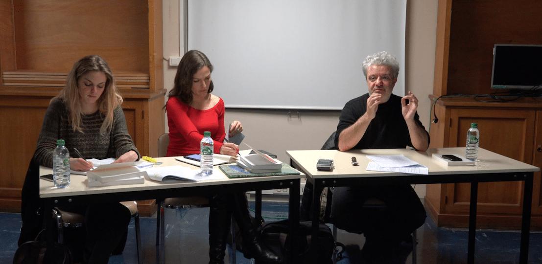 Soin et Compassion, le séminaire des doctorants - Une « ethi cosmo politique » - Marc CRÉPON