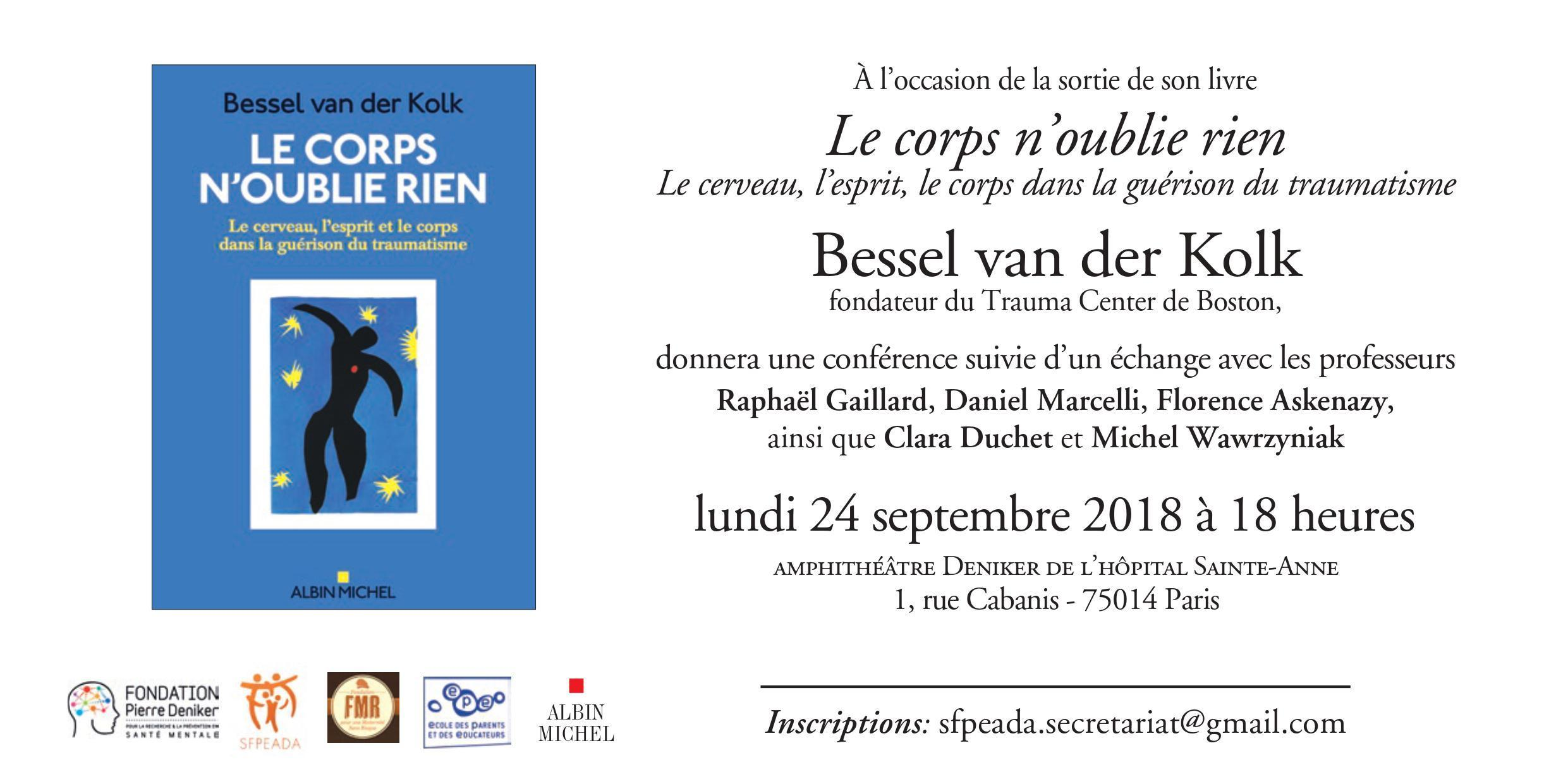 Conférence de Bessel van der Kolk