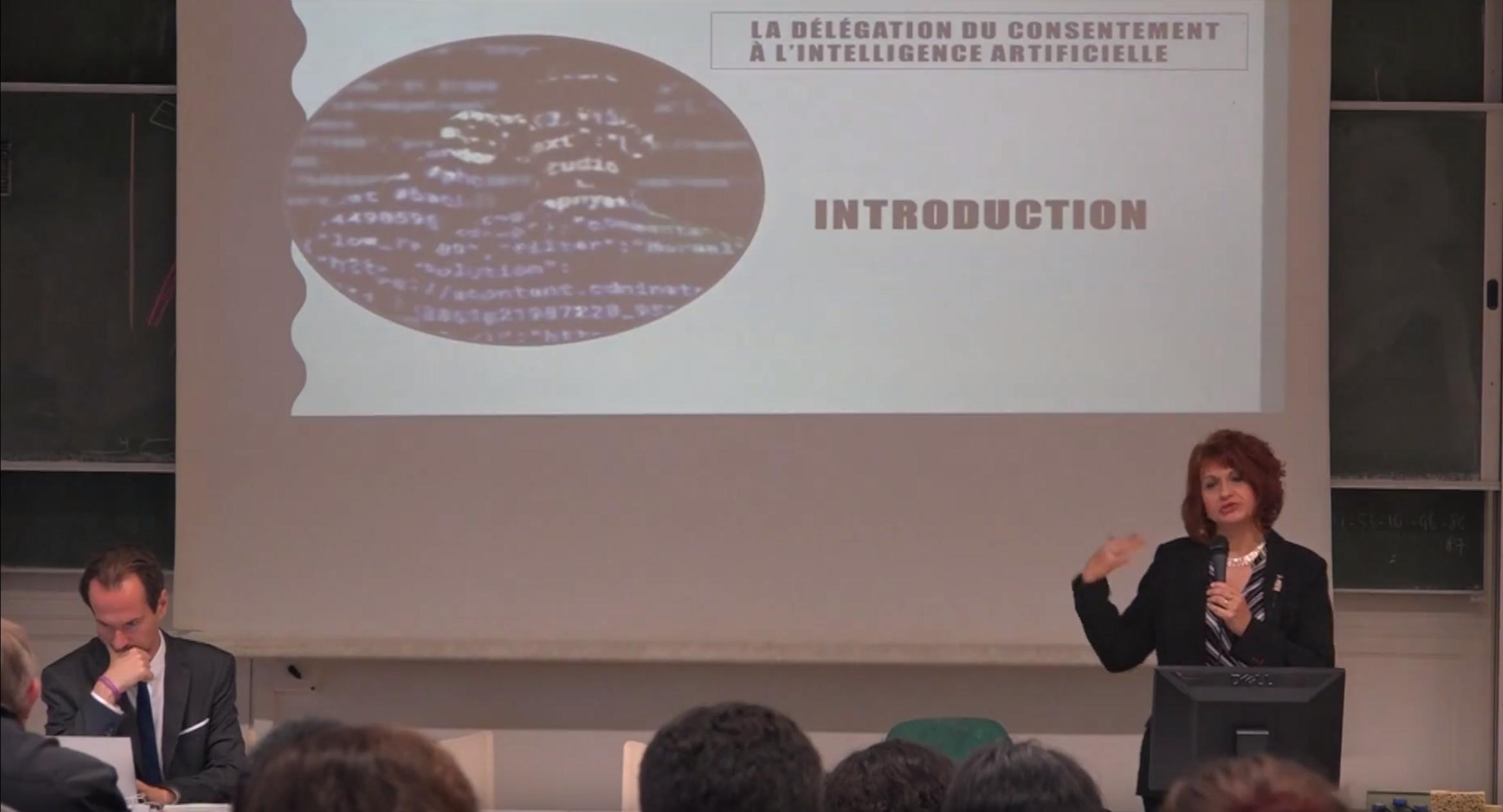 Vers une délégation du consentement à l'intelligence artificielle
