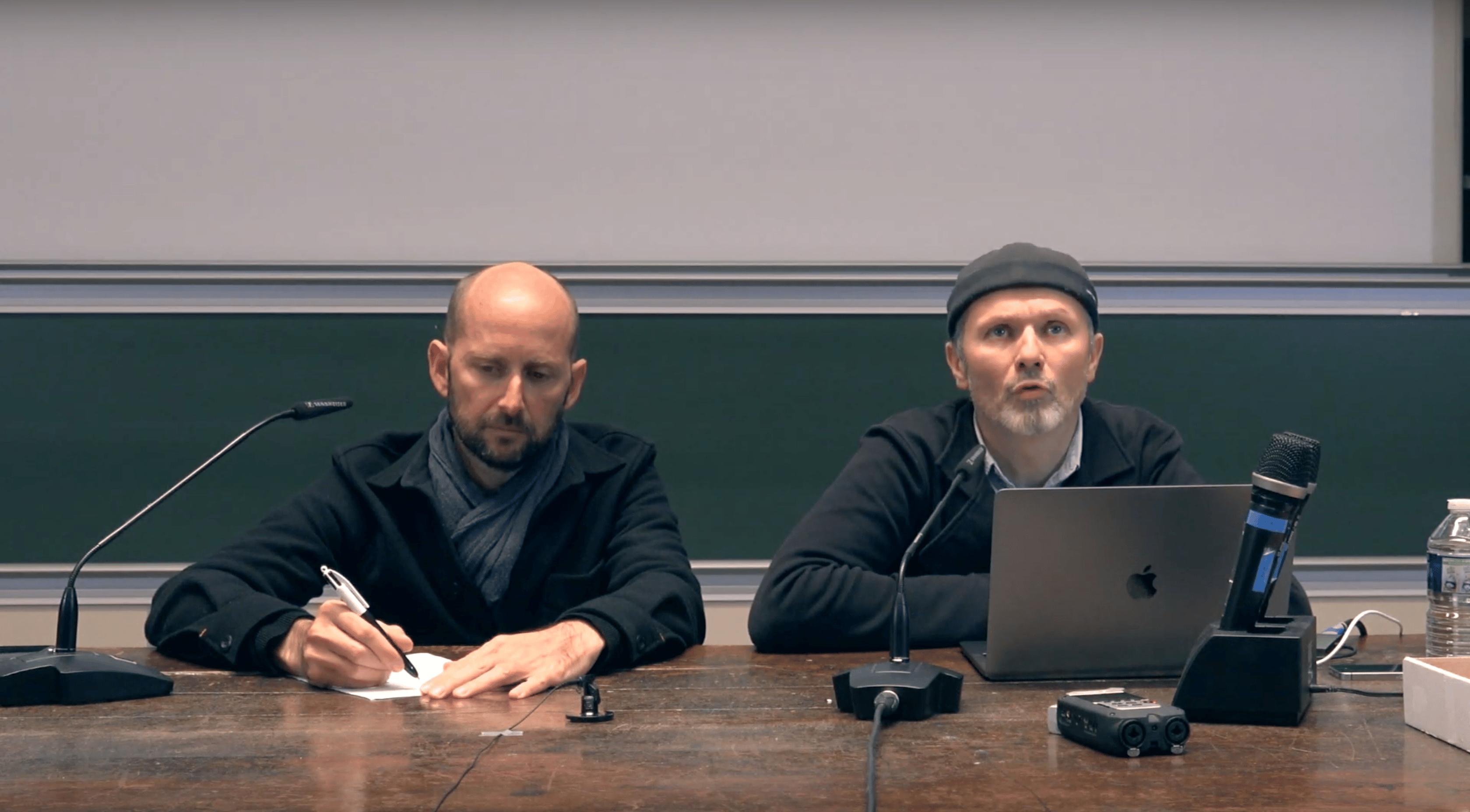 Antoine Fenoglio et Alexandre Pennaneac'h – Design et régulation démocratique