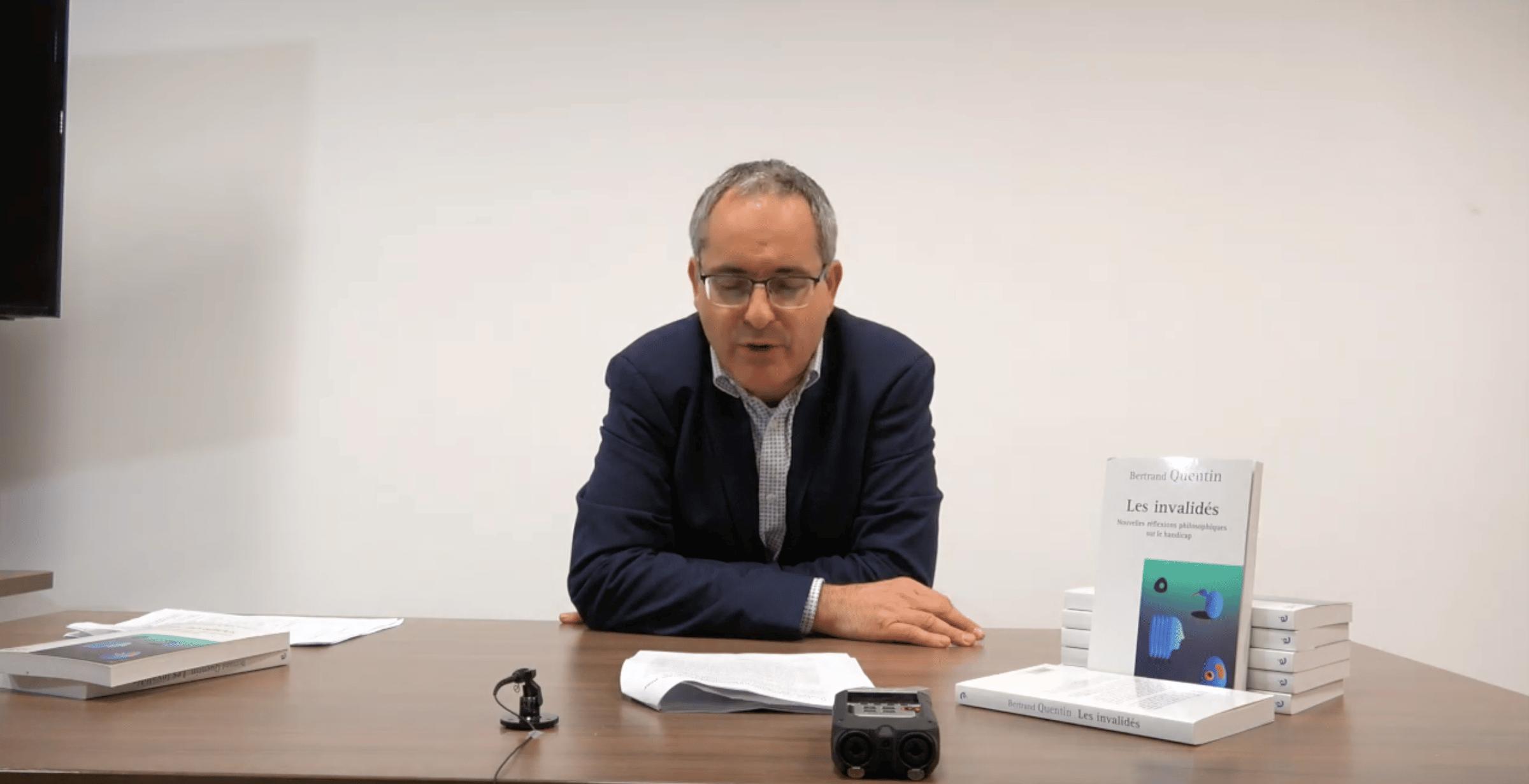 Bertrand Quentin – Penser le concept de handicap