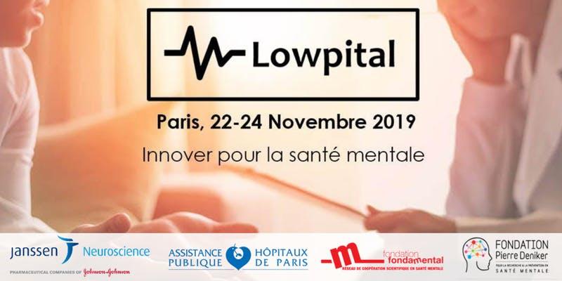Créathon Lowpital Paris 2019 – Santé mentale