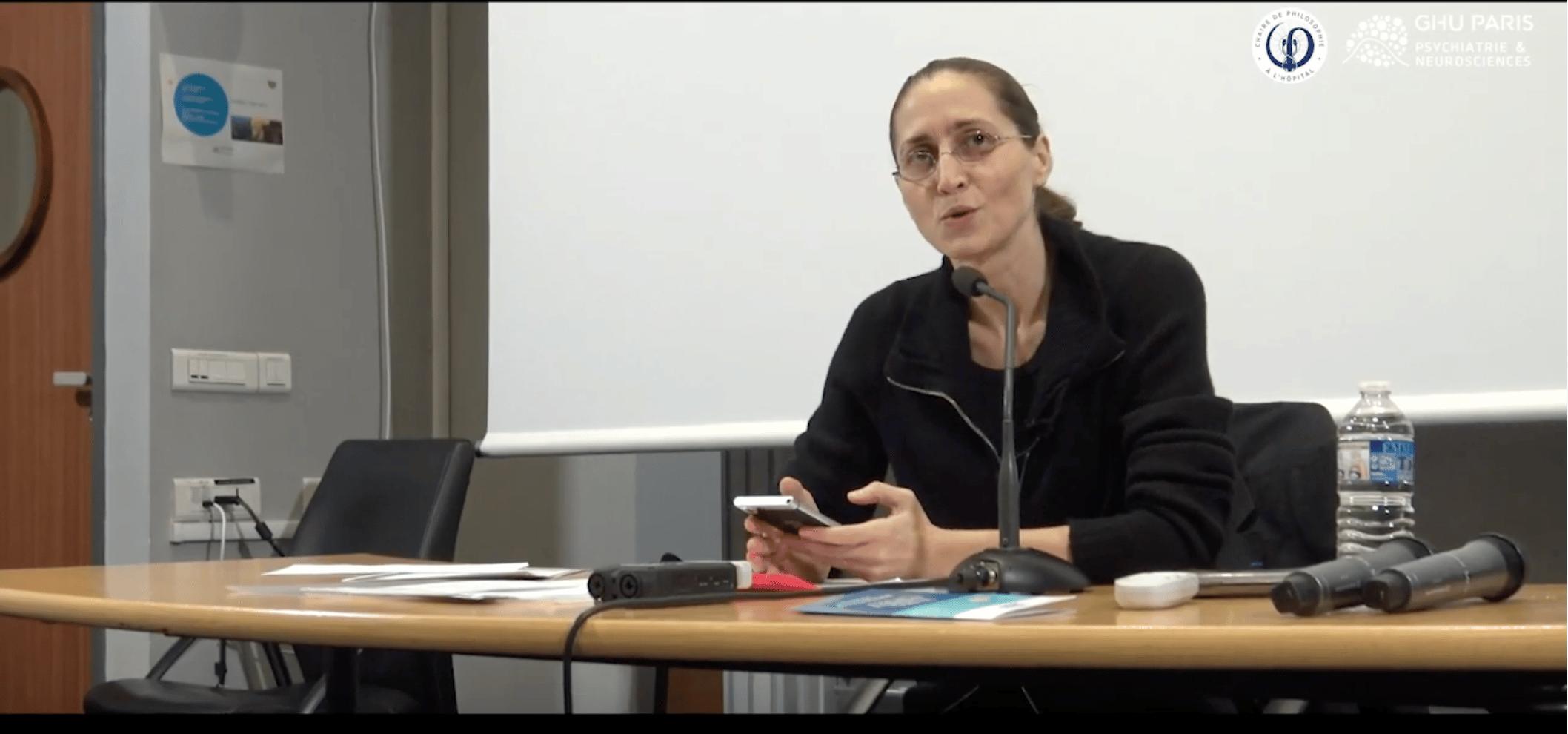 Présentation par Cynthia Fleury de la Chaire de Philosophie du GHU-Paris