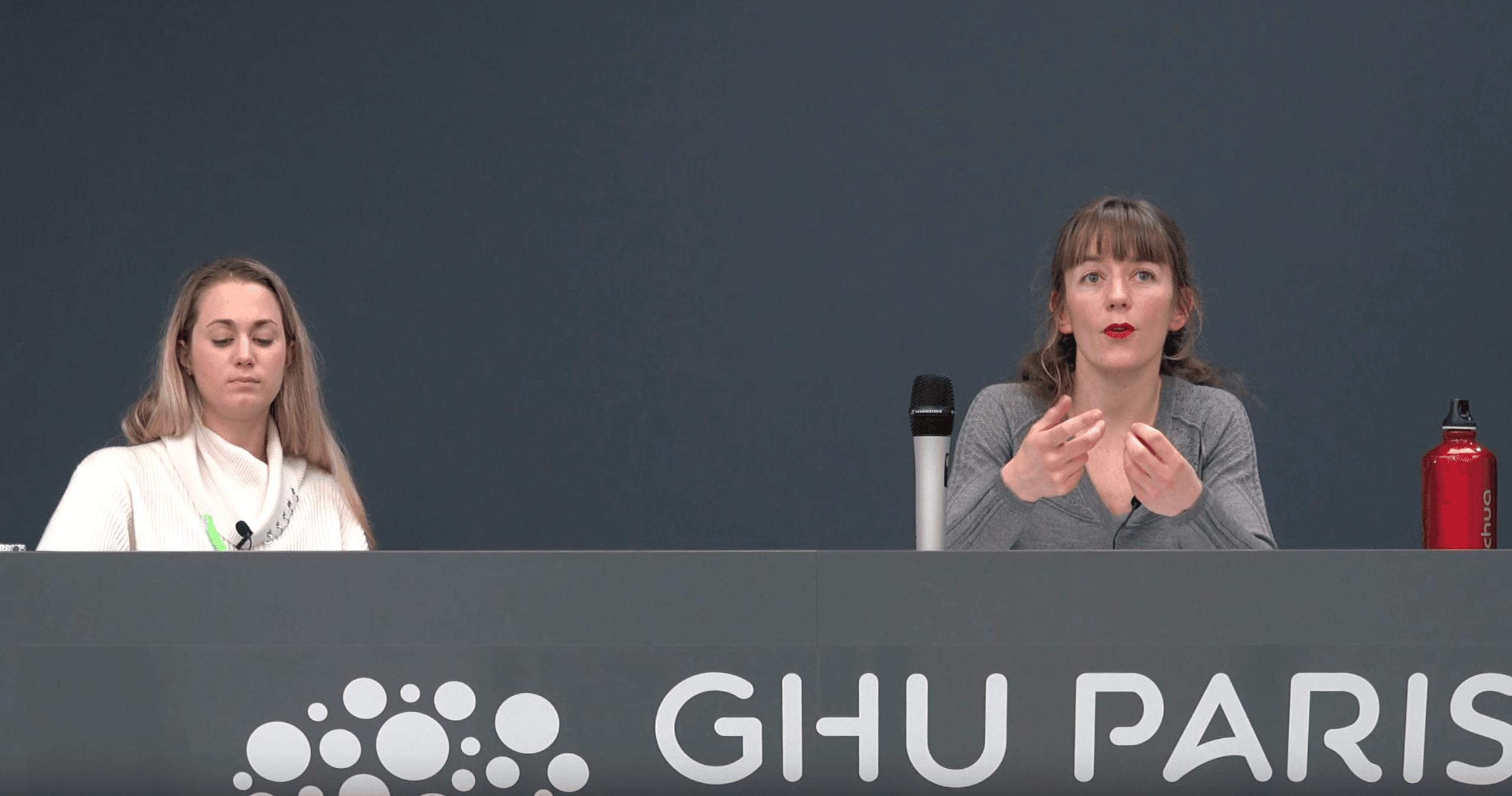 Mona Gérardin-Laverge et Astrid Chevance