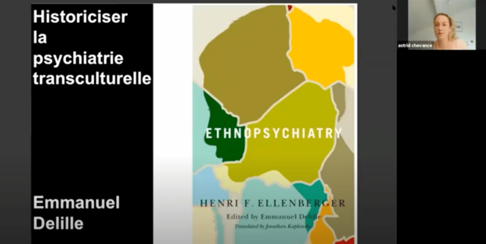 Emmanuel Delille – Historiciser la psychiatrie transculturelle
