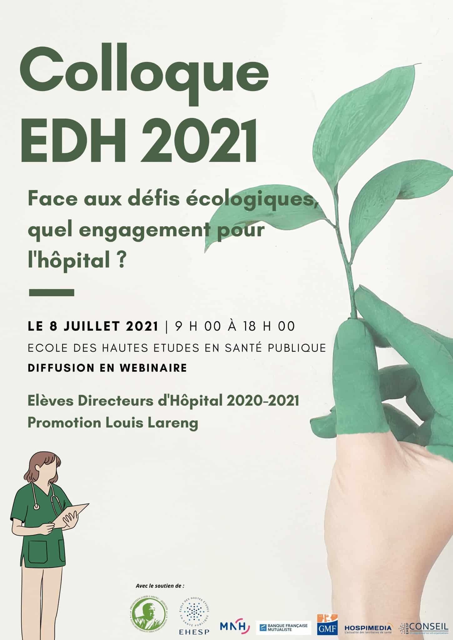 Face aux défis écologiques, quel engagement pour l'hôpital ? – Colloque EDH