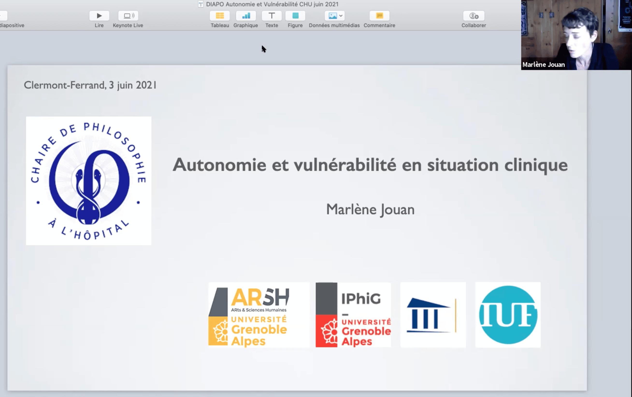 Autonomie et vulnérabilité en situation clinique