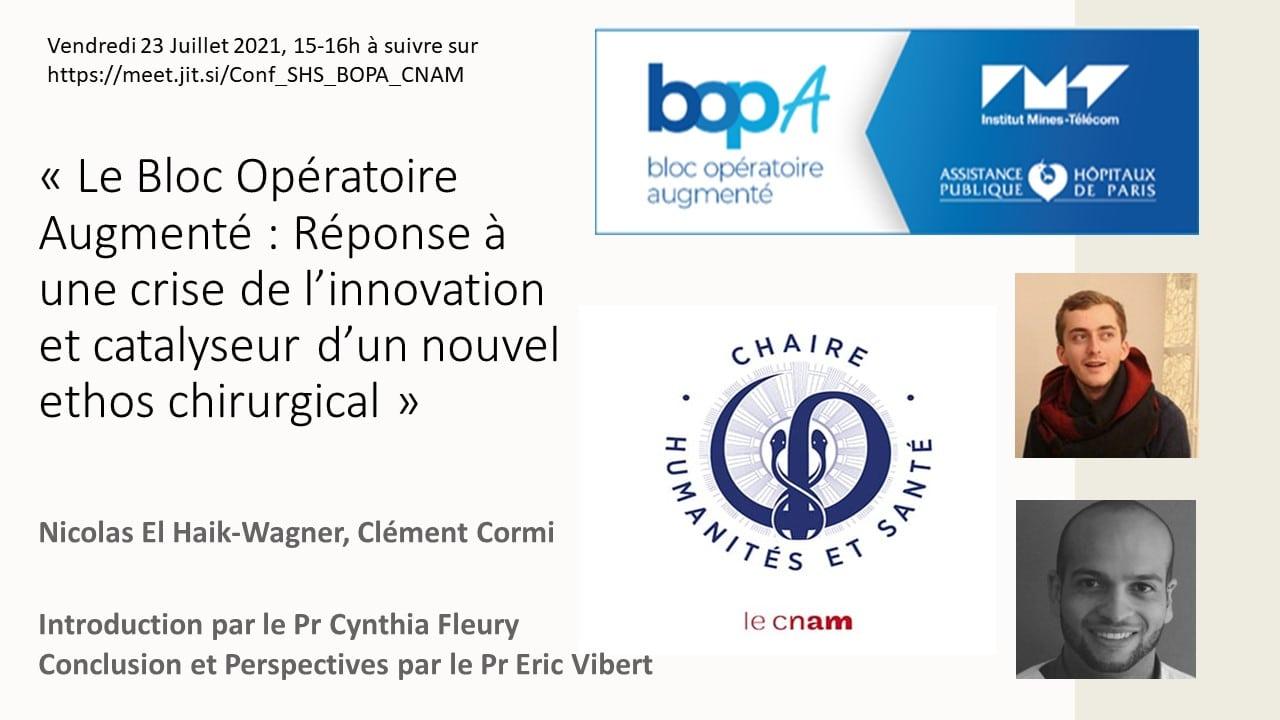 Le Bloc Opératoire Augmenté : Réponse à une crise de l'innovation et catalyseur d'un nouvel ethos chirurgical